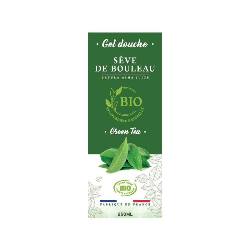 250ml - Gel douche Green Tea