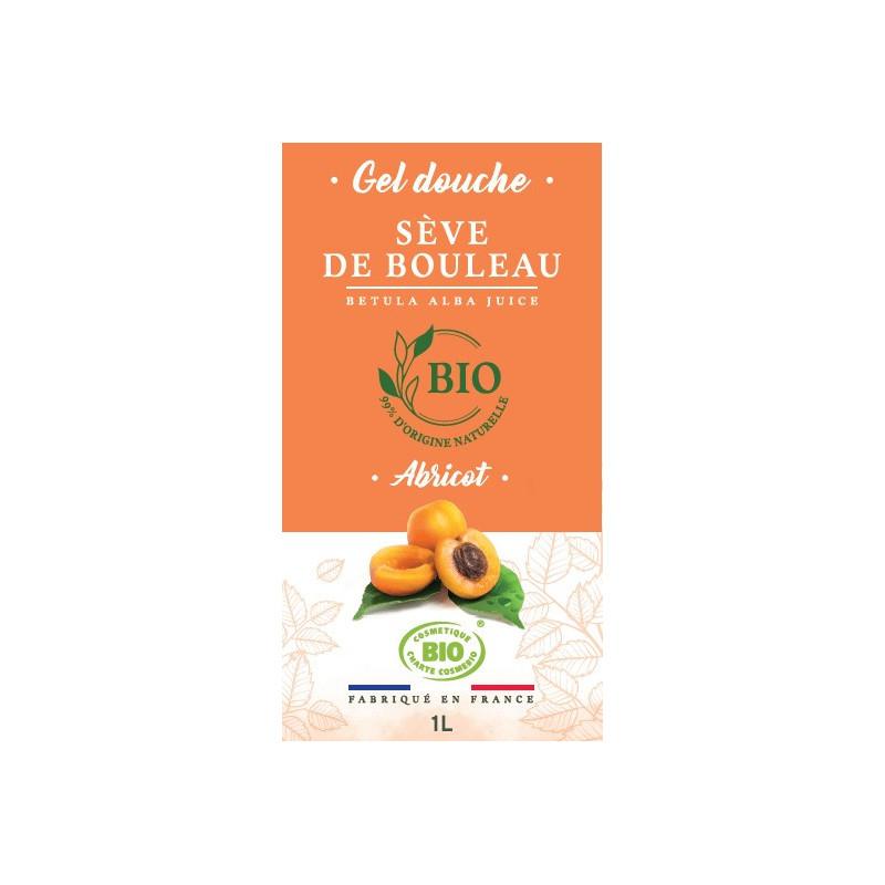 1 litre - Gel douche Abricot