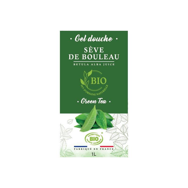 1 litre - Gel douche Green Tea